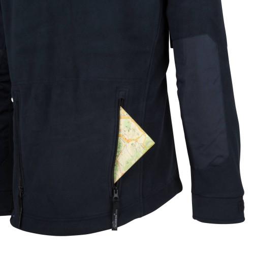 Schwarz Outdoor Helikon Tex Classic Army Fleece Jacket Jacke Black