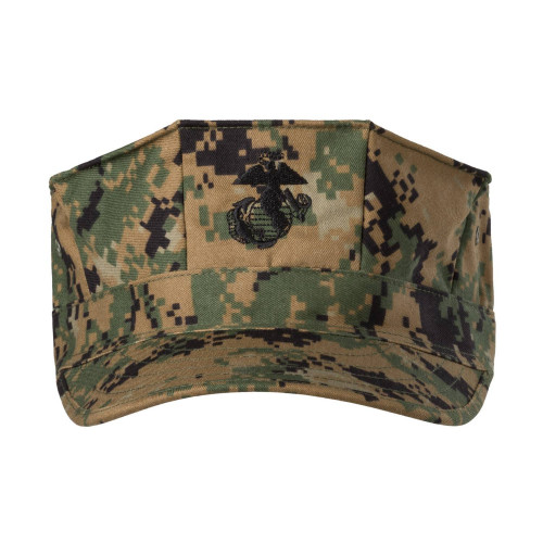 USMC Cap - PolyCotton Twill Detail 3
