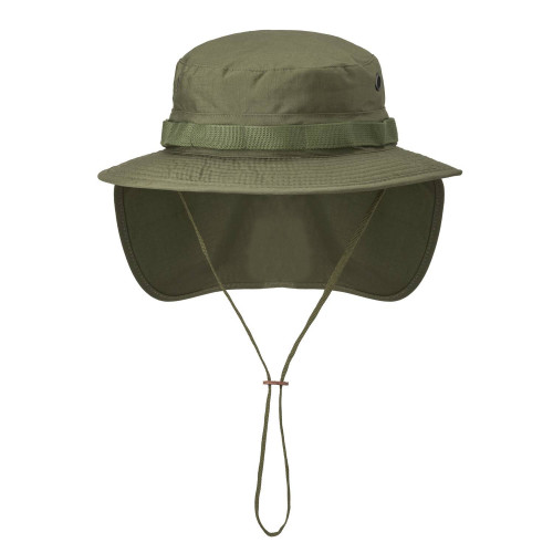 BOONIE Hat - PolyCotton Ripstop Detail 1