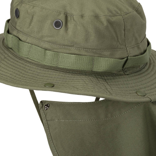 BOONIE Hat - PolyCotton Ripstop Detail 3