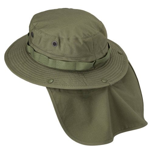 BOONIE Hat - PolyCotton Ripstop Detail 5