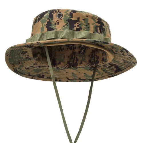 USMC Boonie Hat - PolyCotton Twill Detail 3