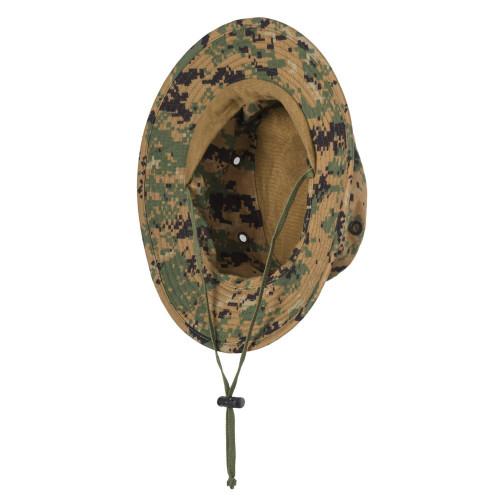 USMC Boonie Hat - PolyCotton Twill Detail 5