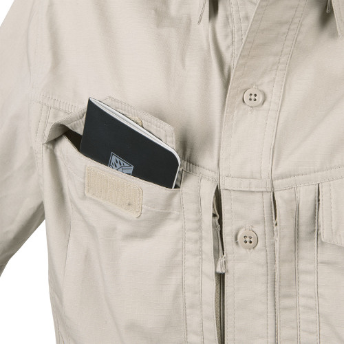 DEFENDER Mk2 Shirt long sleeve® - PolyCotton Ripstop Detail 7