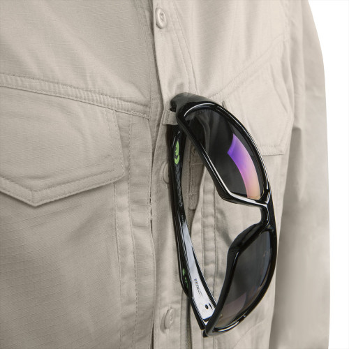 DEFENDER Mk2 Shirt long sleeve® - PolyCotton Ripstop Detail 3