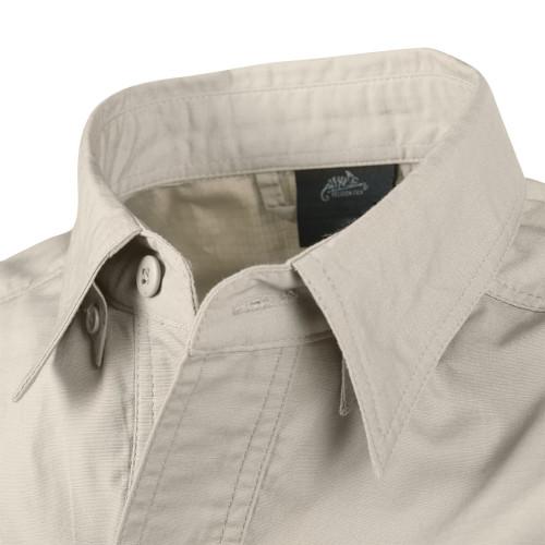 DEFENDER Mk2 Shirt long sleeve® - PolyCotton Ripstop Detail 6