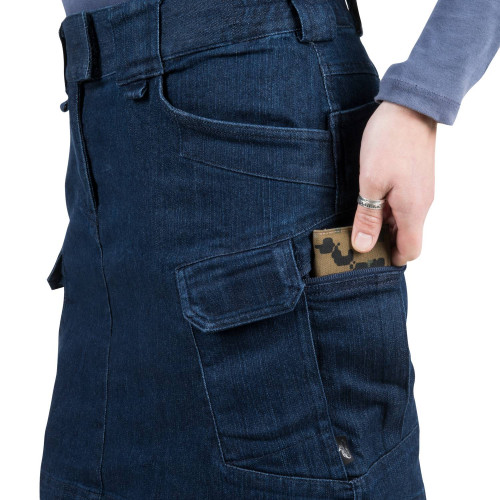 UTL SKIRT® (Urban Tactical Skirt®) - Denim Mid Detail 11