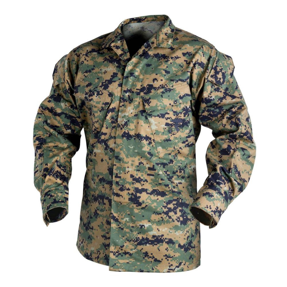USMC Shirt - PolyCotton Twill Detail 1
