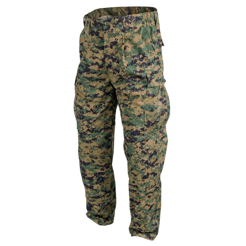 USMC Trousers - PolyCotton Twill Detail 1