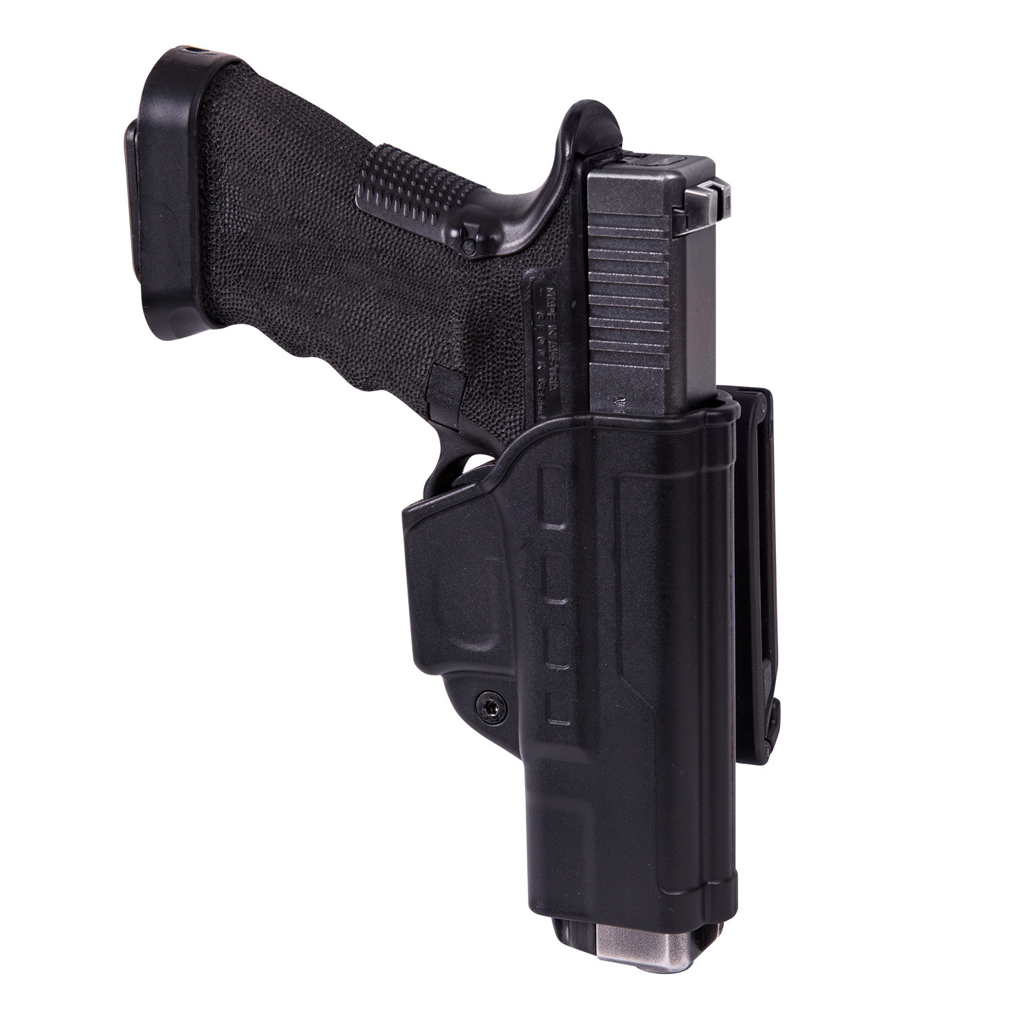 Fast Draw Holster for Glock 17 with Belt Clip - Military Grade Polymer