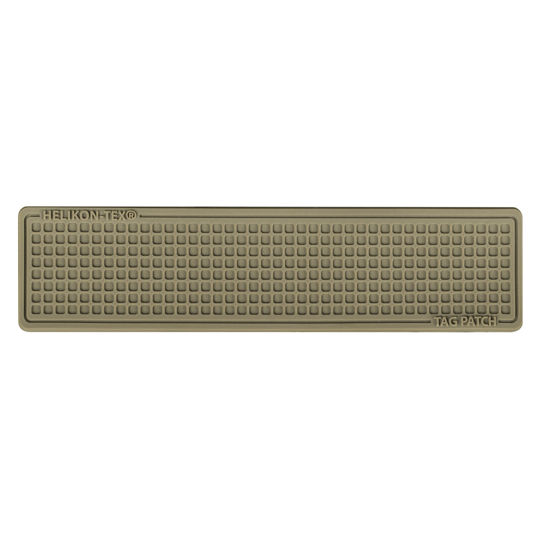 Tag Patch 100x25mm (set - 3pcs.) - PVC - Coyote