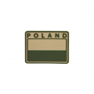 POLISH Subdued Flag Patch POLAND