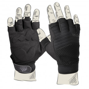 Rękawiczki HALF FINGER