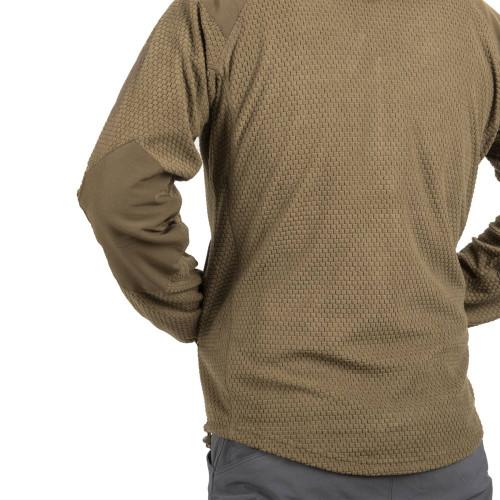 ALPHA HOODIE Jacket - Grid Fleece Detail 6