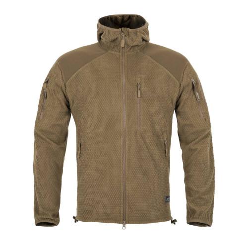 ALPHA HOODIE Jacket - Grid Fleece Detail 3