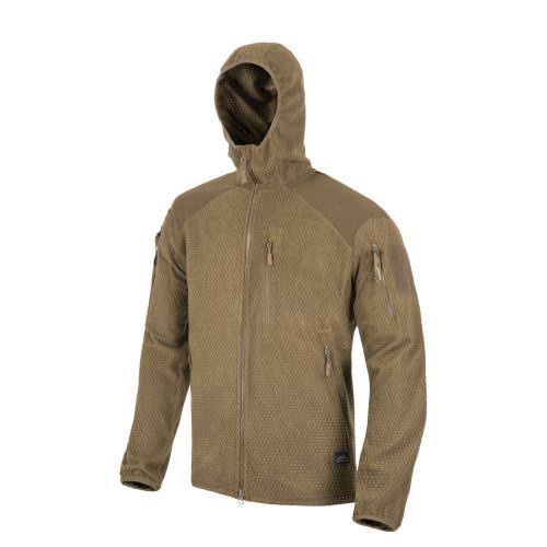 ALPHA HOODIE Jacket - Grid Fleece Detail 5