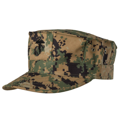 USMC Cap - PolyCotton Twill Detail 1