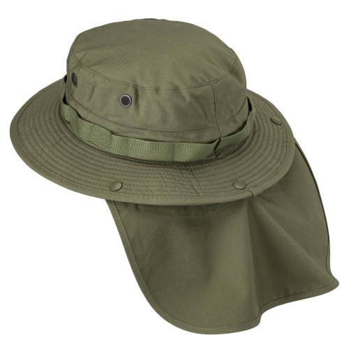 BOONIE Hat - PolyCotton Ripstop Detail 5