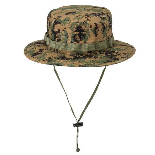 USMC Boonie Hat - PolyCotton Twill Detail 1