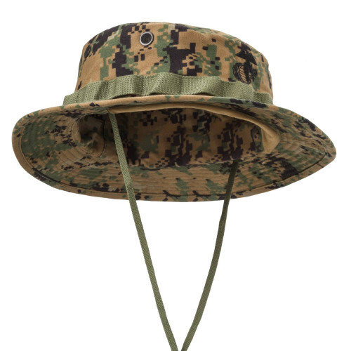 USMC Boonie Hat - PolyCotton Twill Detail 3