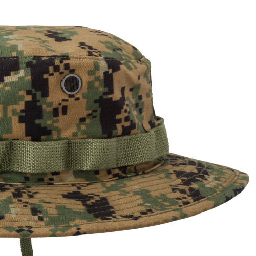 USMC Boonie Hat - PolyCotton Twill Detail 4
