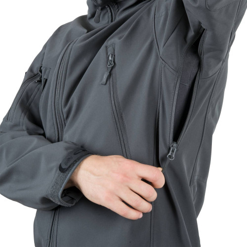 GUNFIGHTER Jacket - Shark Skin Windblocker Detail 17