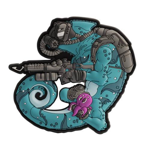 Chameleon Diver Patch Detail 1