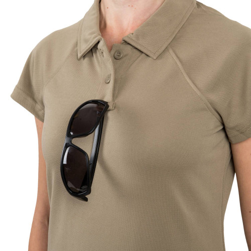 Women's UTL® Polo Shirt - TopCool Lite Detail 3
