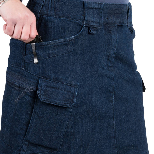 UTL SKIRT® (Urban Tactical Skirt®) - Denim Mid Detail 6