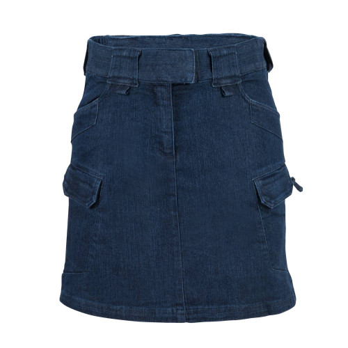 UTL SKIRT® (Urban Tactical Skirt®) - Denim Mid Detail 3